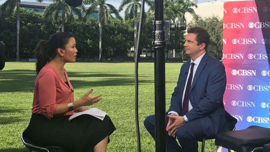 Joseph Uscinski on CBSN Red and Blue with Elaine Quijano