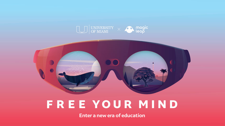 UM and Magic Leap Free Your Mind teaser graphic