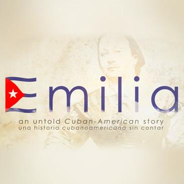 Emilia film graphic