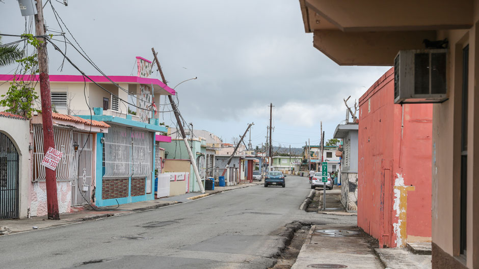 Punta Santiago, Puerto Rico after Hurricane Maria