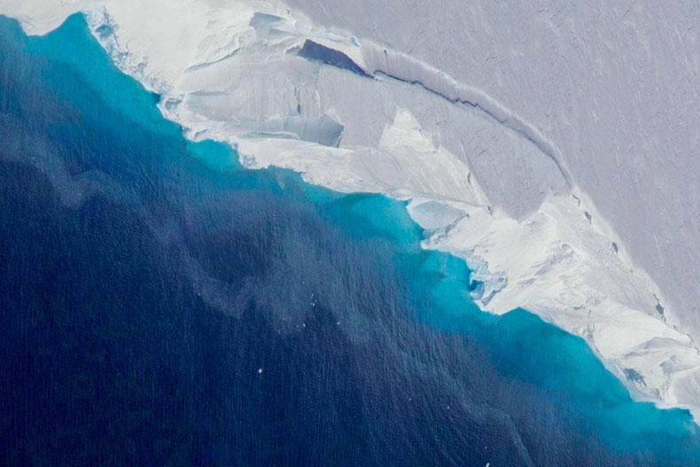 Beneath the Thwaites Glacier