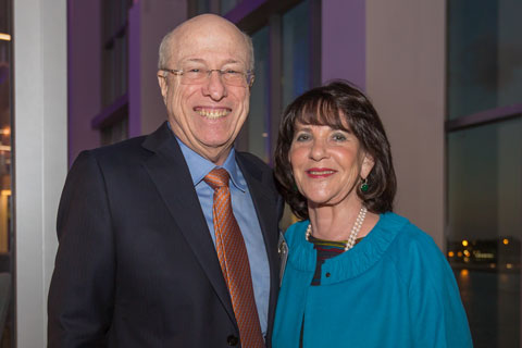 University of Miami Board of Trustees member Alfred Camner (left) with wife Anne Camner. Photo courtesy: Camner family
