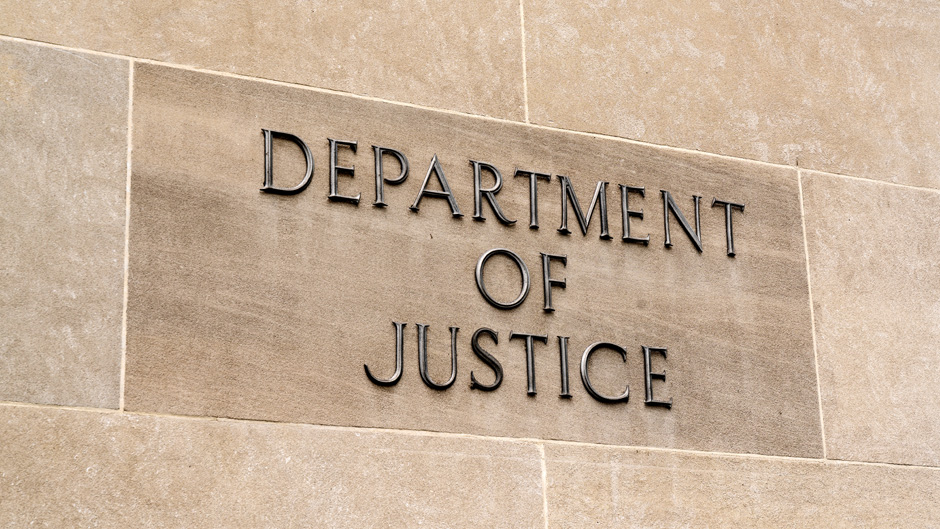 Department of Justice facade