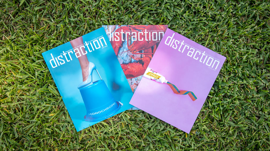 Issues of Distraction magazine