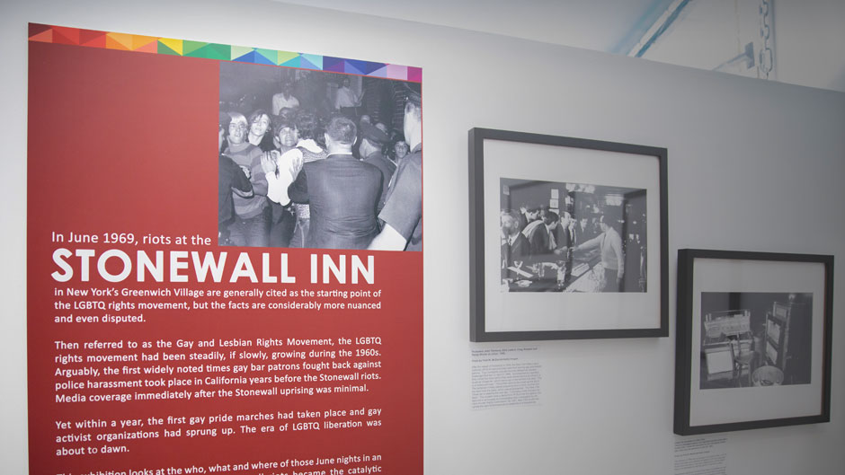 Stonewall: 50 Years in the Fight for Equality at the Stonewall National Museum and Archives
