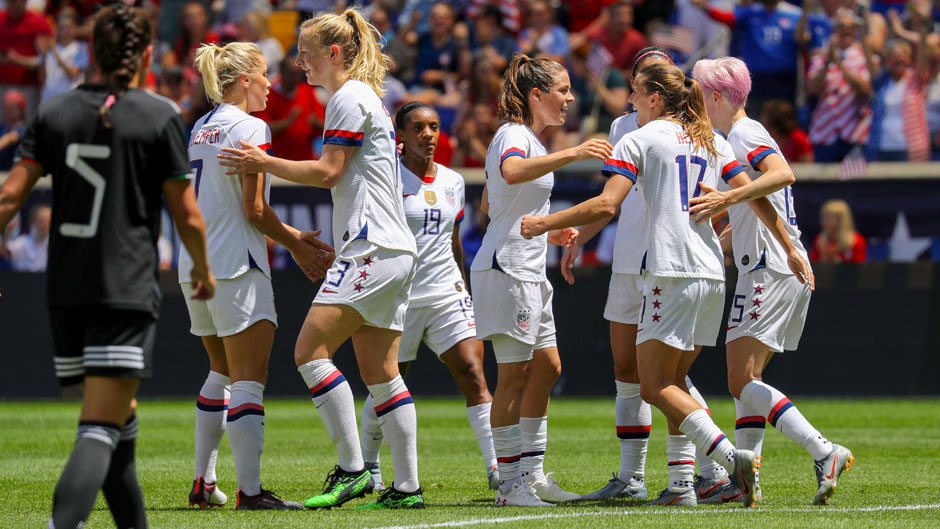 U.S. Women's National Soccer Team in Harrison, New Jersey. May 26, 2019