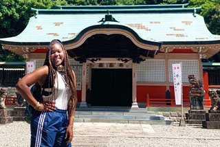 Kayla Crews in Japan
