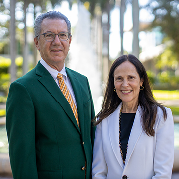 University of Miami's vice provost for innovation, Norma Kenyon, established the Cane Angel Network with Provost Jeffrey Duerk's support.