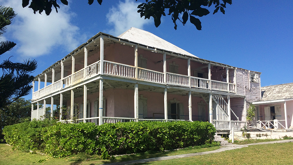 University of Miami School of Architecture faculty are working on restoring the royal Bahamian Governor Lord Dunmore's Harbour Island residence