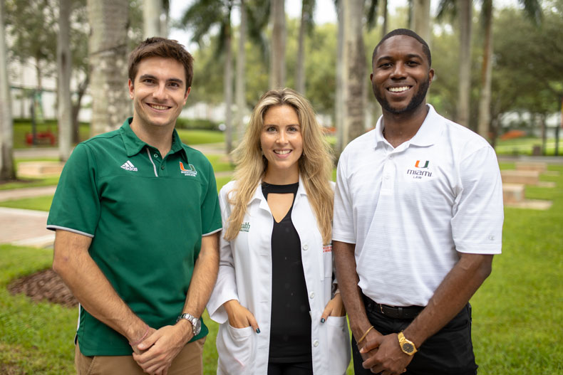 The presidents of the School of Law, Miller School of Medicine, and Graduate School associations share their personal experiences as 'Canes, and what's on the horizon for their individual constituents.