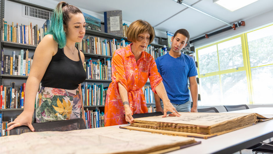 Renovations to the School of Architecture's library doubled its footprint, offering students space to study and exchange ideas.