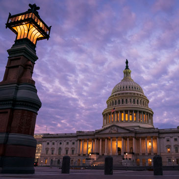 The Capitol in Washington is seen at dawn, Thursday, Oct. 3, 2019. House Democrats are moving quickly on the impeachment probe of President Donald Trump after a whistleblower exposed a July phone call the president had with Ukrainian President Volodymyr Zelenskiy in which Trump pressed for an investigation of political rival Joe Biden and his family. (AP Photo/J. Scott Applewhite)