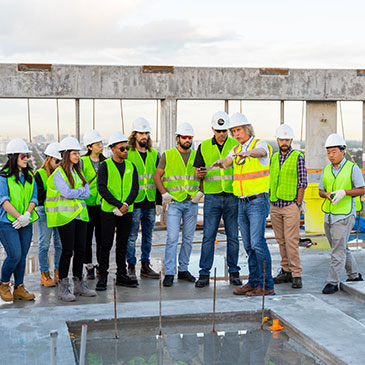 Master's in Construction Management, School of Architecture, University of Miami, UM, construction, Gables Station, College of Engineering