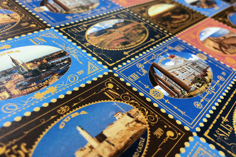 United Nations Cuba stamps
