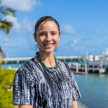 Katharine Mach is an Associate Professor at the University of Miami Rosenstiel School of Marine and Atmospheric Science and a faculty scholar at the UM Abess Center for Ecosystem Science and Policy.