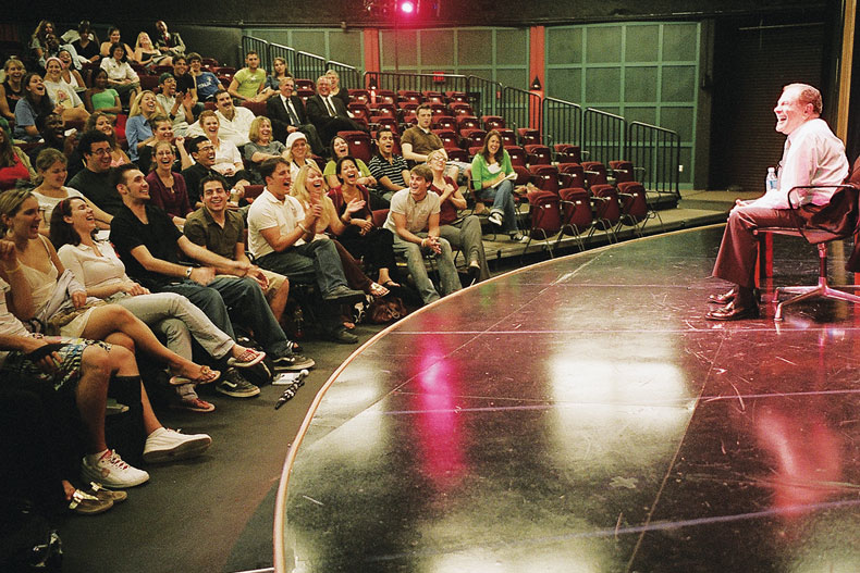 Jerry Herman teaches a master class at the Ring Theatre