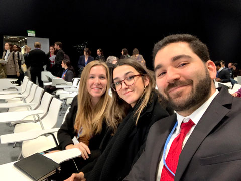 Miami Law students at COP25