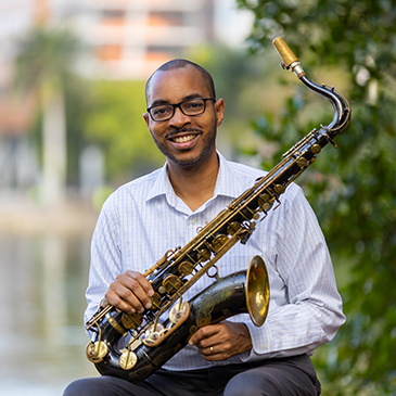 An acclaimed saxophonist, Frost School of Music ethnomusicologist Melvin Butler is an expert in African-American and Caribbean music