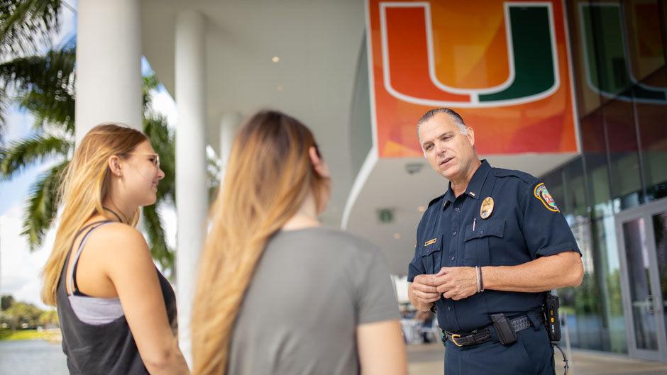 The 31-member University of Miami police force will hold a gala to recognize its five decades of protecting the University community.