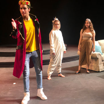 For students, time-limited theater is a dress rehearsal of real life