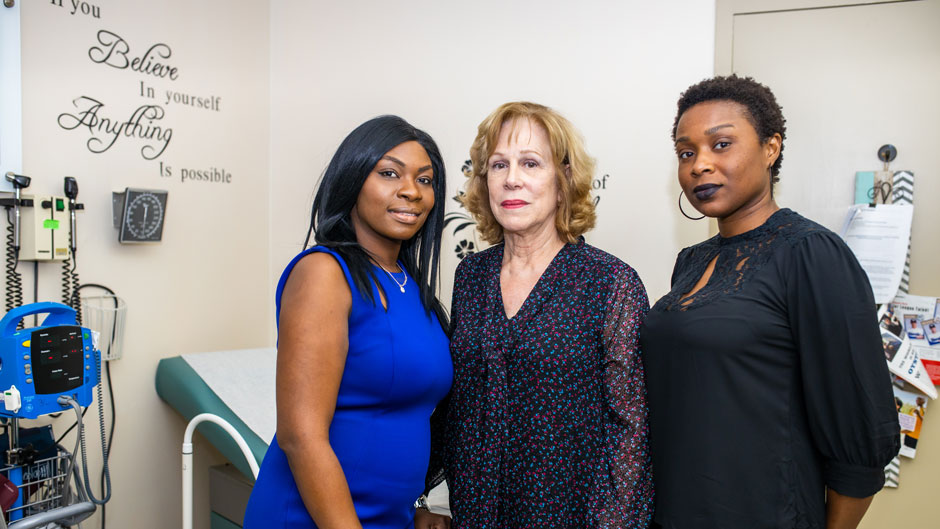 "The THRIVE clinic, established in collaboration with Jackson Health System, is a ""one-stop shop"" providing comprehensive health care to victims of human trafficking."
