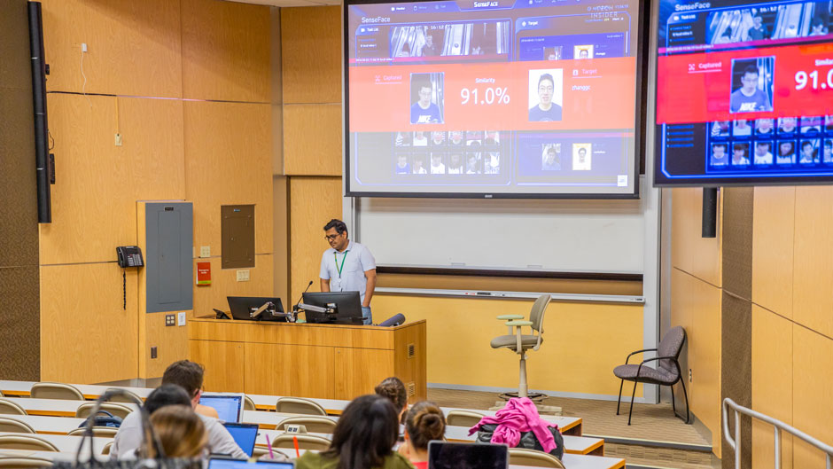 University of Miami, cybersecurity, facial recognition