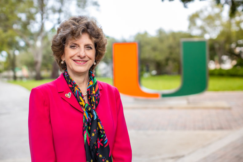Lourdes Dieck Assad, vice president for the University of Miami's Hemispheric and Global Affairs
