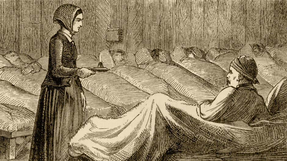 "Known as the ""Lady with the Lamp,"" Florence Nightingale ushered in the modern era of nursing with lifesaving measures she implemented at the British army hospital in Turkey during the Crimean War."