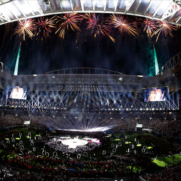 Super Bowl LIV half time show fireworks