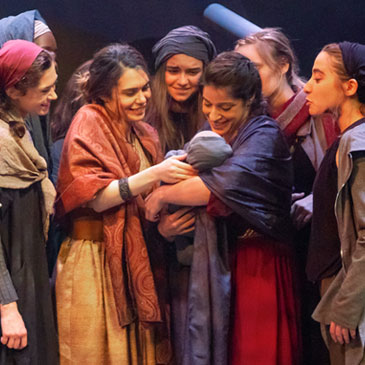 "The University's Jerry Herman Ring Theatre opens with the Greek classic ""The Trojan Women,"" which runs through Feb. 29."