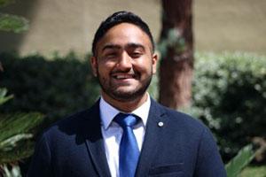 It's On Us student ambassador Tej Bhasin