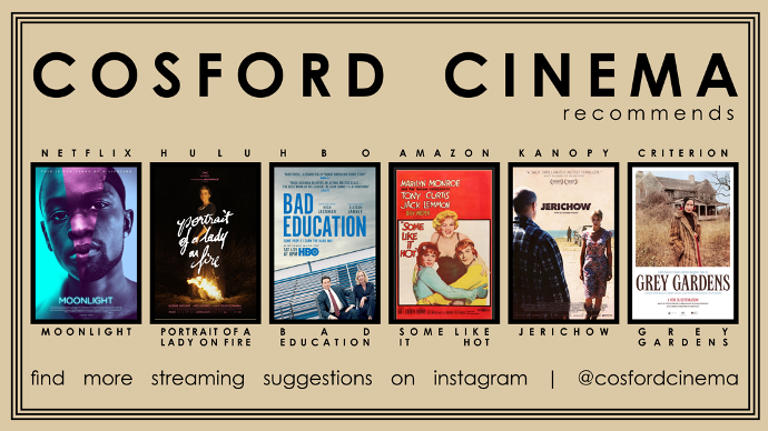 Streaming site film recommendations