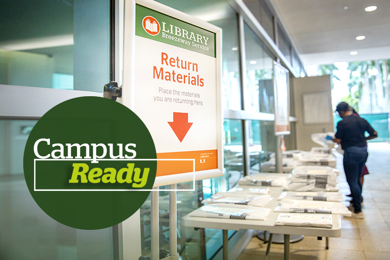 With a team of experts ready to support students, faculty, and staff, the University of Miami Libraries has implemented new guidelines for scheduling in-person visits while providing remote access to resources—including tutoring, workshops, and materials.