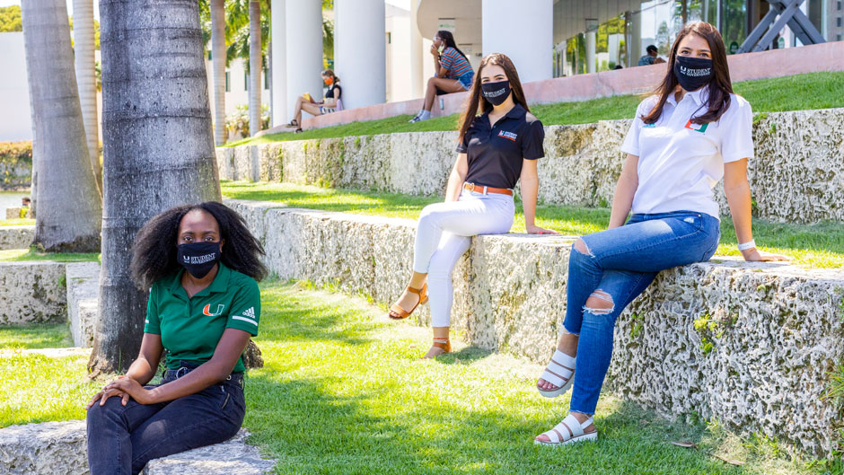 University of Miami Student Government executive board for 2020-2021