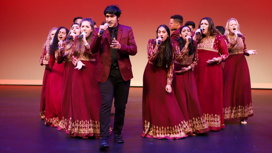 Tufaan, the University of Miami's South Asian a capella group
