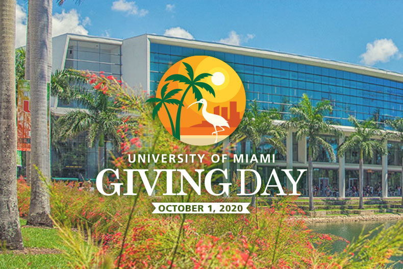 Giving Day aims to engage 2,020 donors in 24 hours and unlock additional funds to support the University of Miami.
