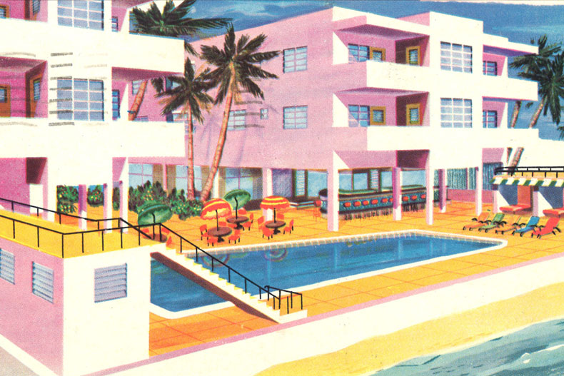 Postcard from Selling Some Sand: The Marketing of Miami Beach — Special Collections