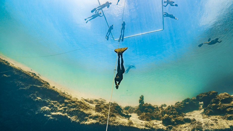 Biological oceanographer Claire Paris-Limouzy started freediving for research and ended up becoming a record-breaking athlete.