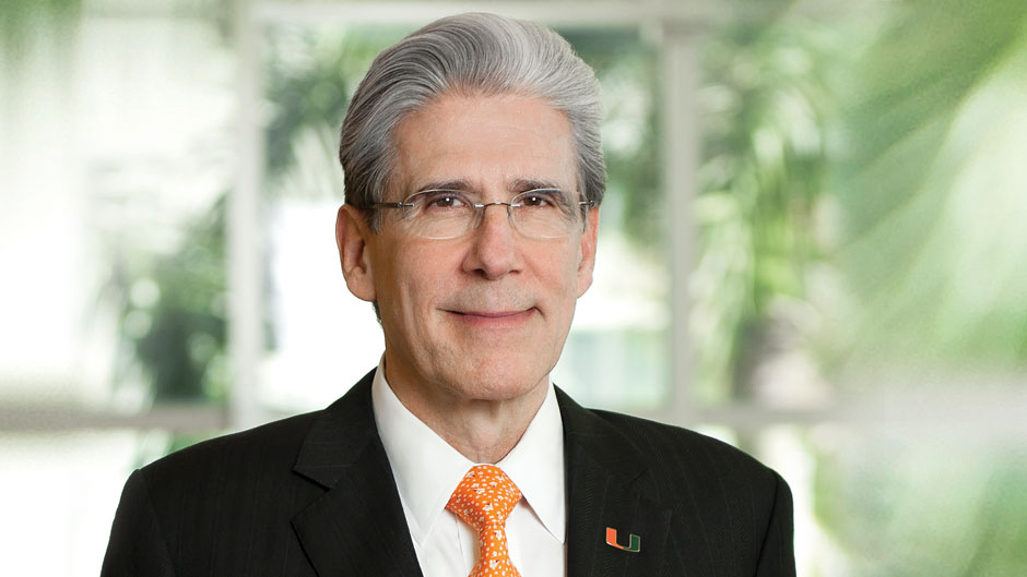 University of Miami President Julio Frenk