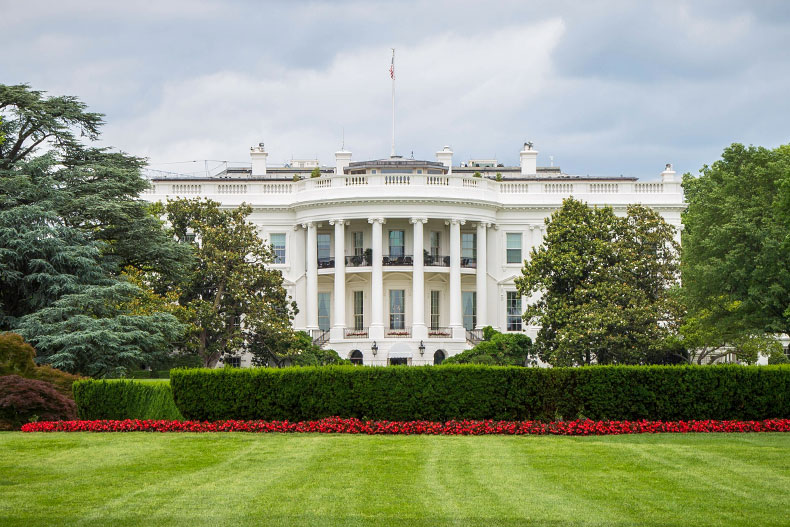 Exterior of the White House