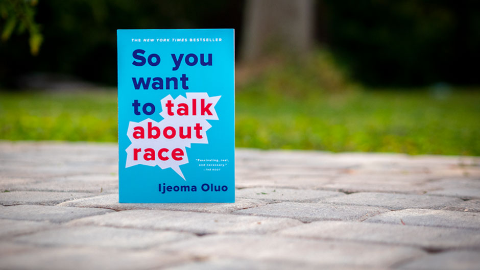 "Image of the book ""So you want to talk about race"""