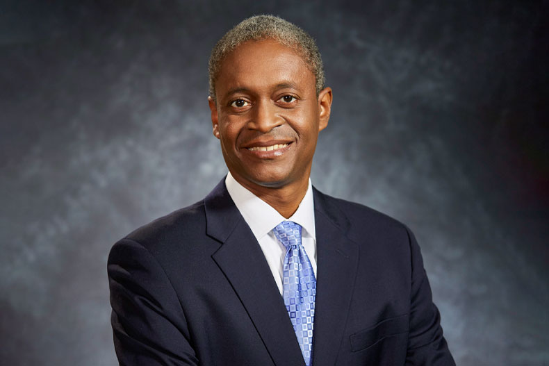 Raphael Bostic, president of the Federal Reserve Bank of Atlanta
