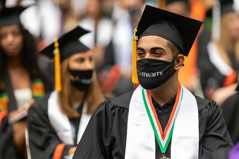 The first undergraduate commencement ceremony took place Friday morning.