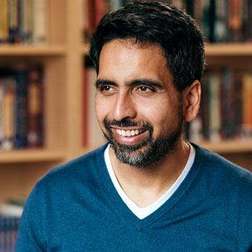 Sal Khan, founder and CEO of Khan Academy. Photo courtesy Khan Academy