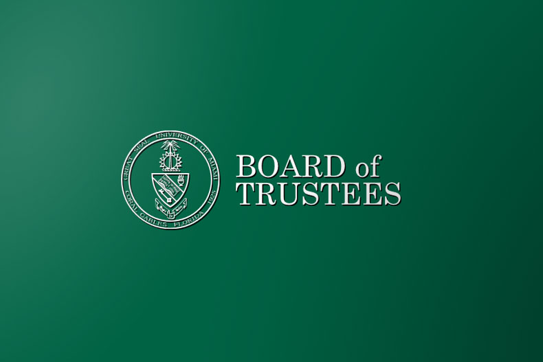University of Miami Board of Trustees Logo