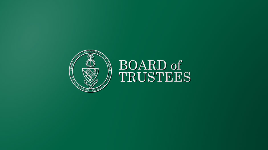 University of Miami Board of Trustees Logo