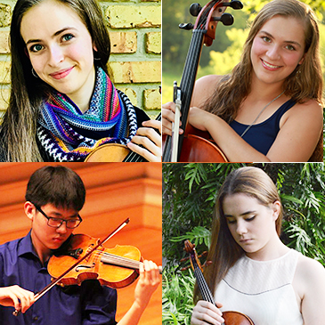 Frost School of Music Welcomes Stamps String Quartet Class of 2022