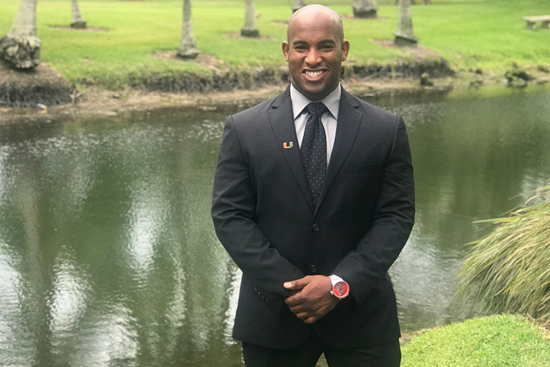 MBA Student Recognized as Top 40 Under 40