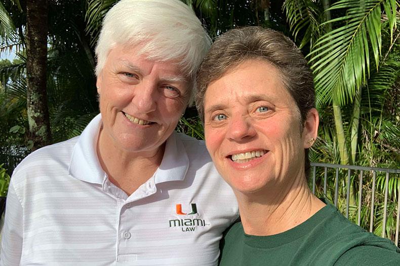 Alice Kerr and Sheryl Borg