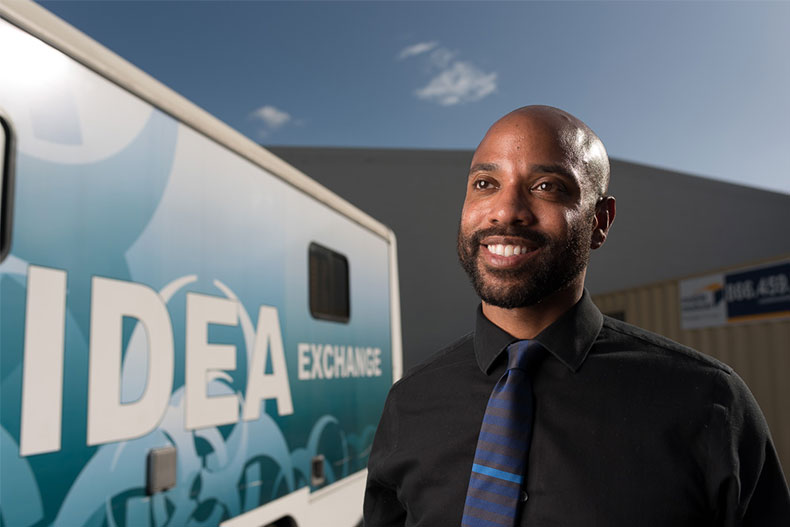 Dr. Hansel Tookes at IDEA Exchange